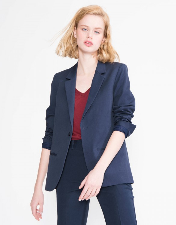 Veste blazer Blair Color - NAVY