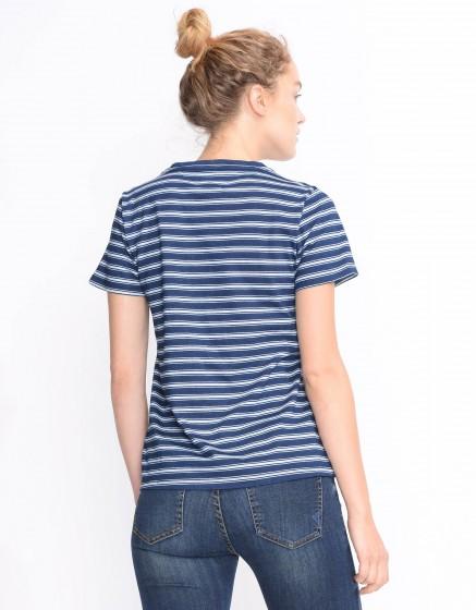 T-shirt Ulysse Indigo - STRIPE