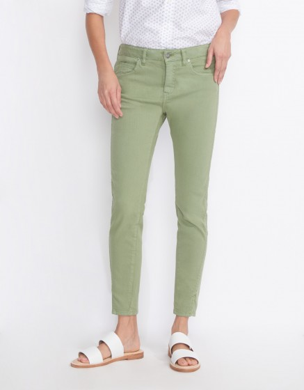 Skinny cropped jean Daytona - MILITARY GREEN