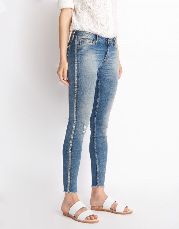 Skinny cropped jean Lily - DENIM HERRING
