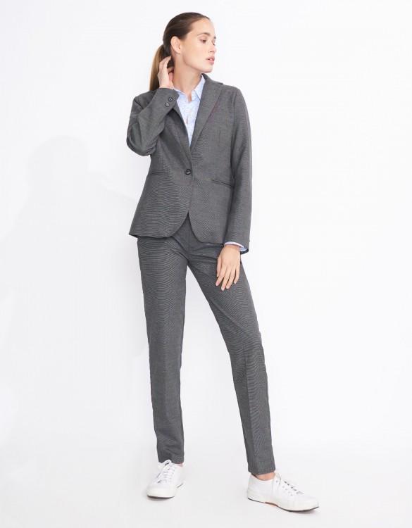 Blazer jacket Birkin Fancy - GRIS CHINE FONCE