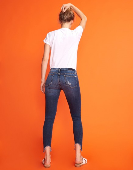 Jean skinny cropped Lily - DENIM M-53