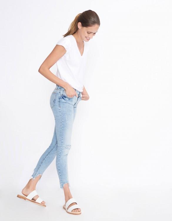Jean skinny cropped Lily - DENIM M-54