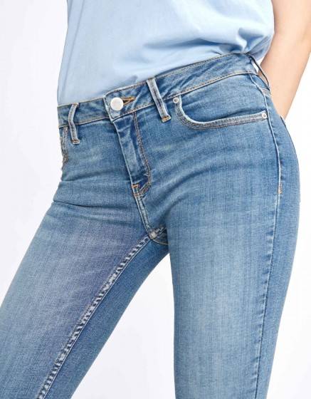 Jean skinny cropped Lily - DENIM M-56