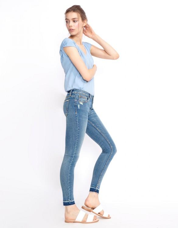 Jean skinny cropped Lily - DENIM M-56