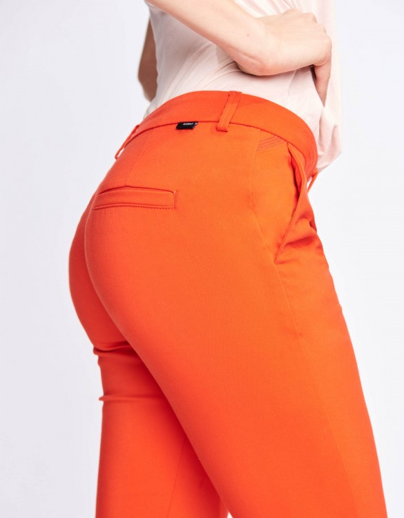 Cigarette Trousers Lizzy Color - PAPAYE