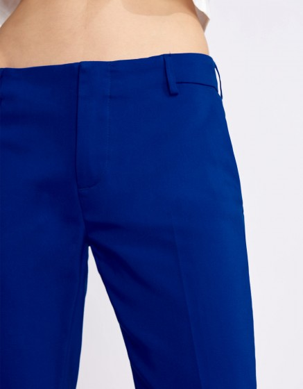 Pantalon Cigarette Lizzy Color - ROYAL BLUE