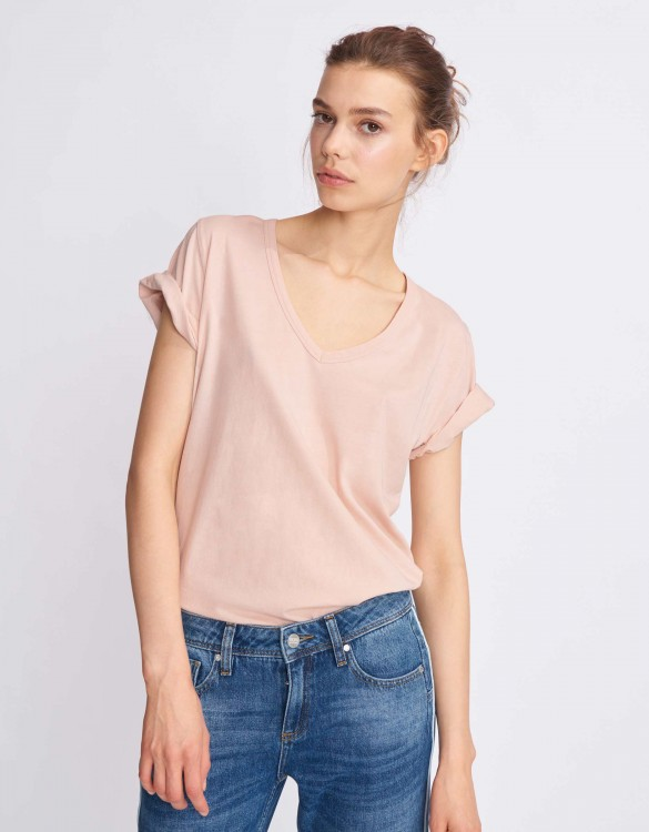 T-shirt Tim - SMOKY PINK