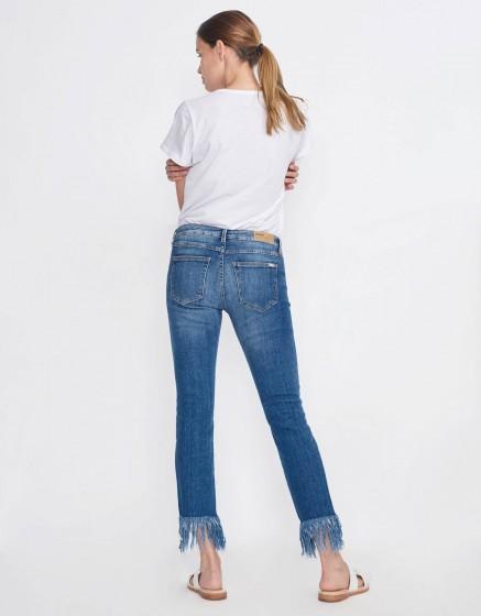 Slim cropped jean Perry - DENIM M-60