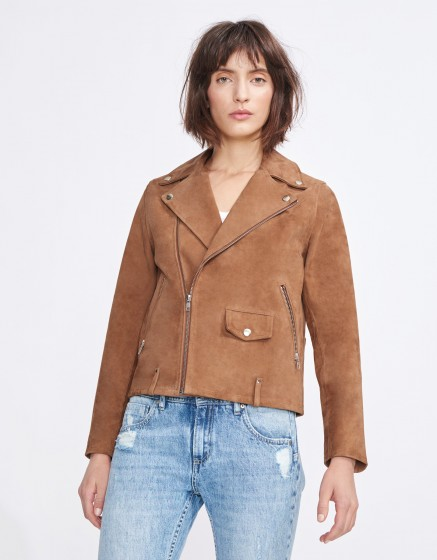 Perfecto jacket Pacey - CAMEL