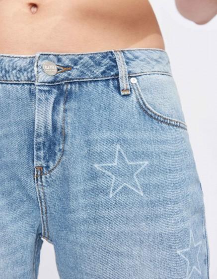 Jean boxy cropped Victor - DENIM STARS