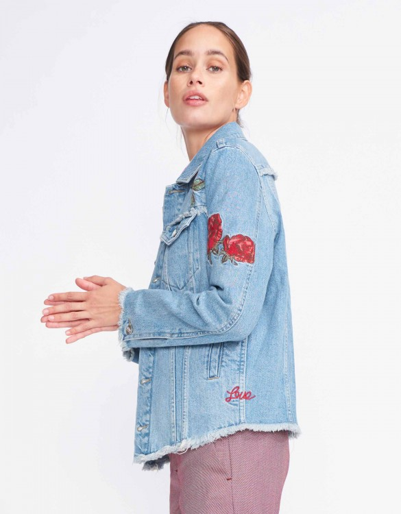 Jean jacket Venus - DENIM EMBROIDERED