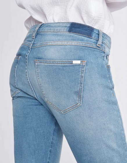 Jean slim cropped Preston - DENIM M-58