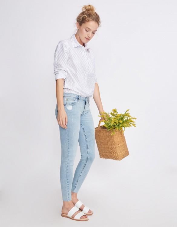 Skinny cropped jean Lily - DENIM V-32