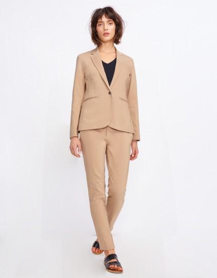 Blazer jacket Birkin Color - MOKA