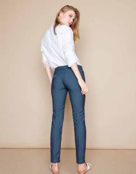 Cigarette Trousers Lizzy Fancy - CROSS