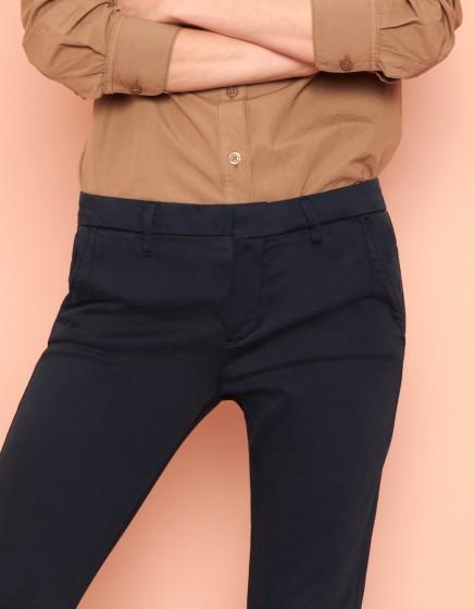Pantalon chino Sandy 2 Basic - DARK NAVY