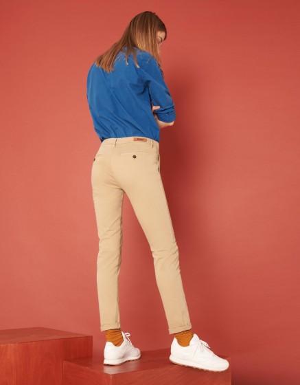 Pantalon chino Sandy 2 Basic - BEIGE