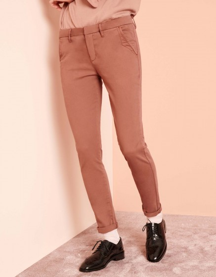 Pantalon chino Sandy 2 Basic - AUBURN