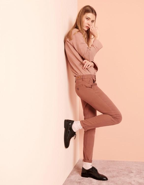 Pantalon chino Sandy 2 Basic - AUBURN