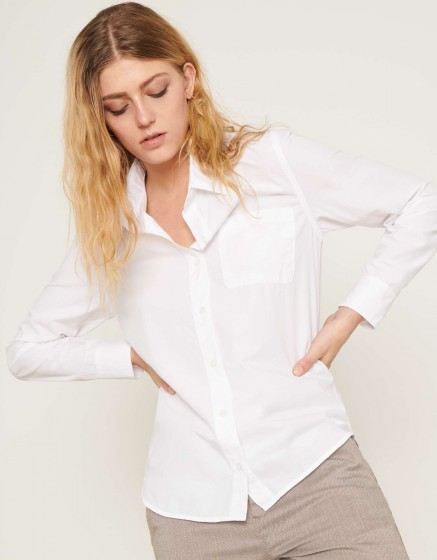 Chemise Carl Color - WHITE