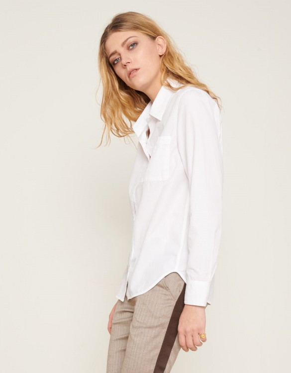 Shirt Carl Color - WHITE