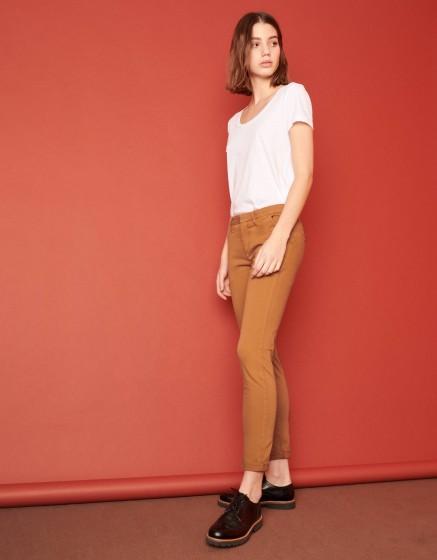 Chino Trousers Sandy 2 Basic - CHAMOIS