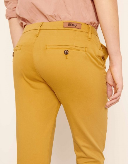 Pantalon chino Sandy 2 Basic - DARK HONEY