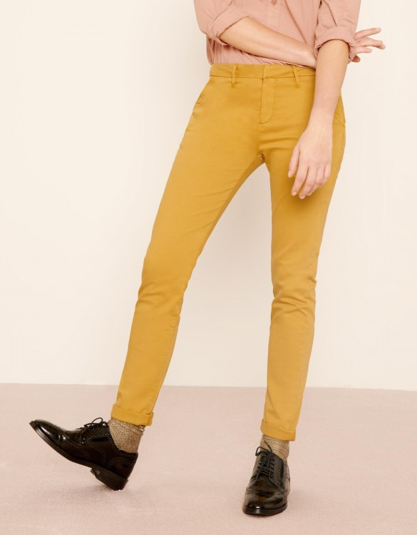 Chino Trousers Sandy 2 Basic - DARK HONEY