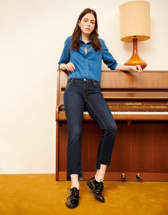 Jean straight cropped Prue - DNM B-91