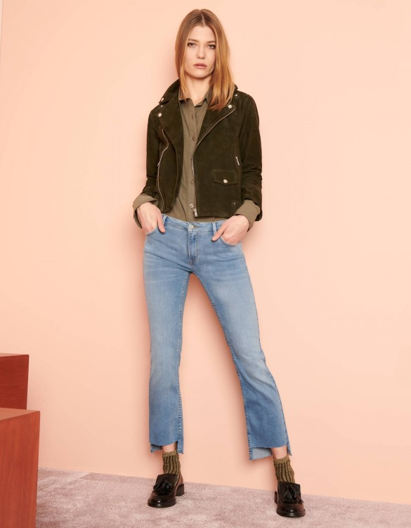 Jean straight cropped Prue - DNM V-42
