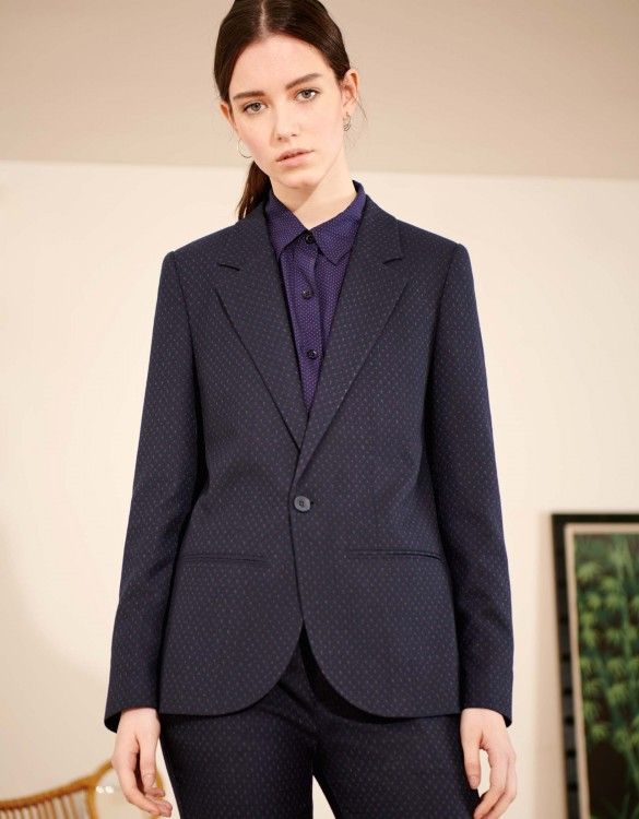 Blazer jacket Blair Fancy - NAVY TRACK