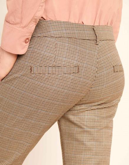 Pantalon cigarette cropped Laura Fancy - SCOTTISH