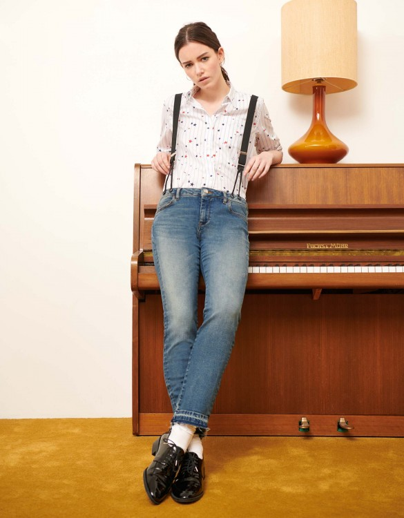 Jean straight cropped Alexis M-72 - DNM M-72
