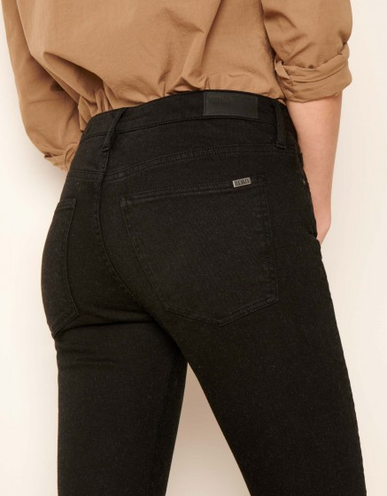 Straight cropped jean Lewis - DNM BLACK