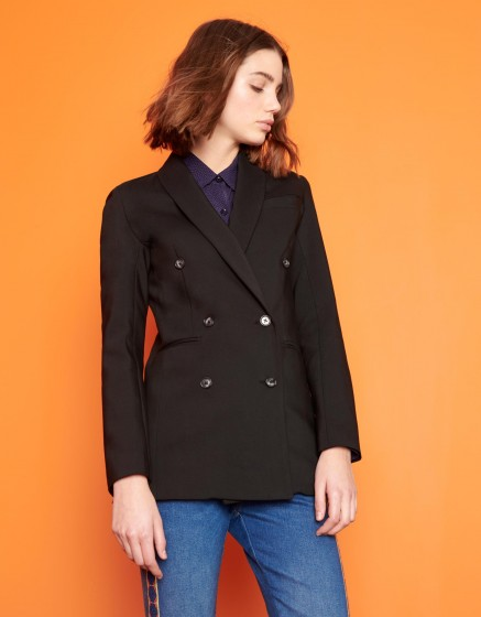 Blazer jacket Basil Color - BLACK