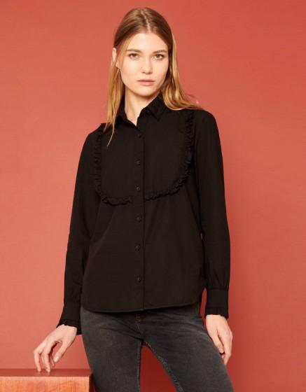 Shirt Cliff Color - BLACK