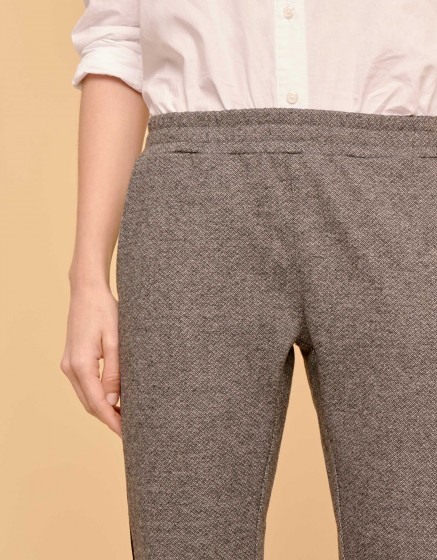 Pantalon street Elvin Fancy - STEEL CHEVRON