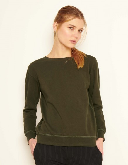 Sweat Soan Color - VERT DE CHROME