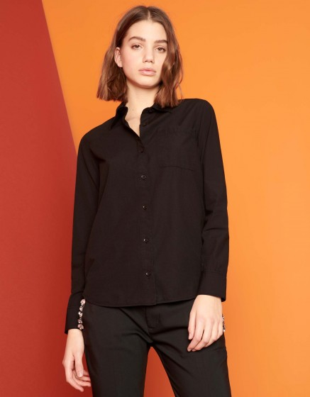 Chemise Carl Color - BLACK