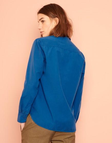 Chemise Carl Color - VICTORIAN BLUE