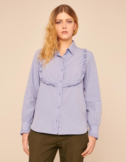 Chemise Cliff Color - SMOKY BLUE