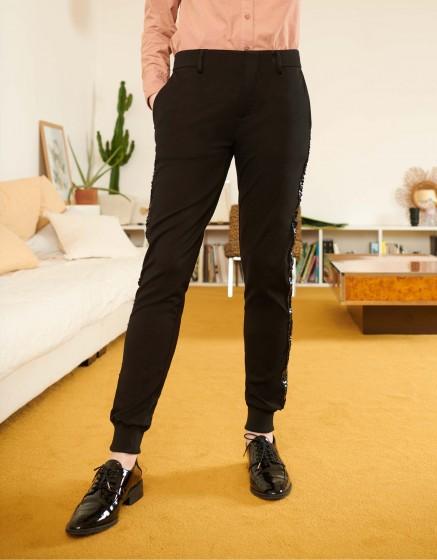 Pantalon Street Lydie - BLACK