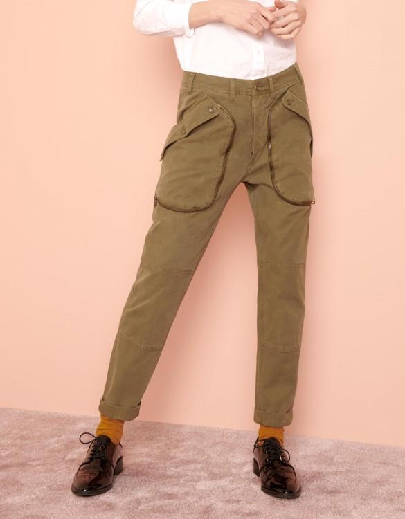 Street trousers Paco - KAKI