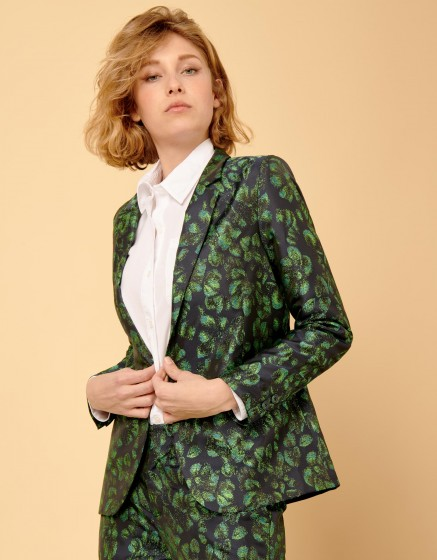 Blazer jacket Blair Fancy - PEACOCK