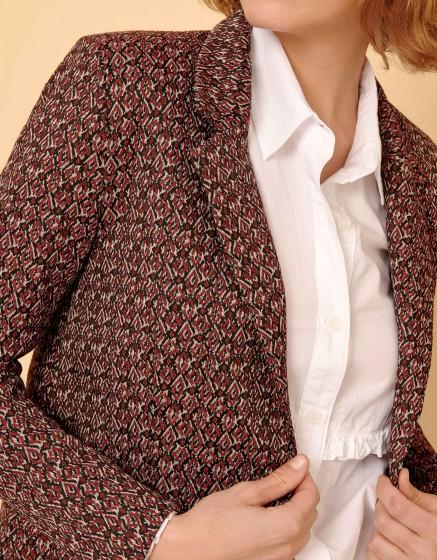 Blazer jacket Blair Fancy - BURGUNDY