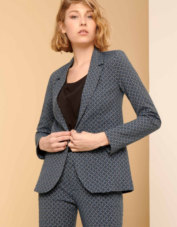 Blazer jacket Blair Fancy - NAVY FLOW