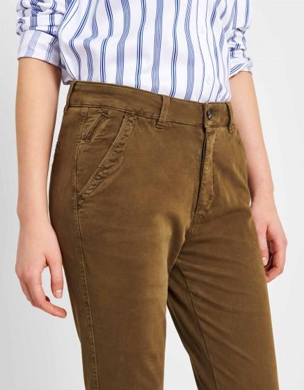 Pantalon chino tapered Scott - VINTAGE KAKI