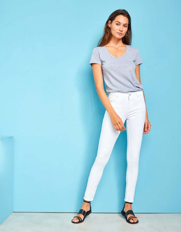 High waist jean Arnel - DNM WHITE