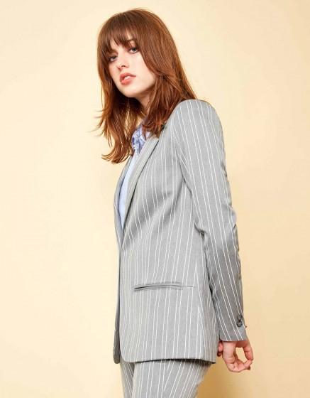 Veste blazer Blair Fancy - STEEL STRIPED